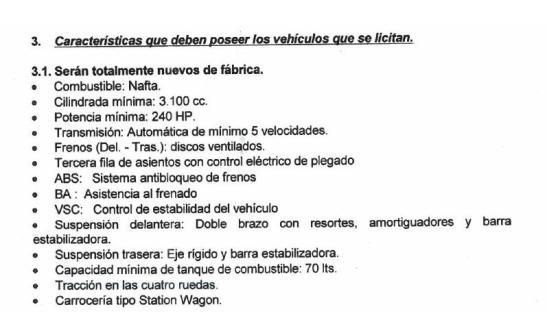 Exigencias_para_Compra_Camioneta